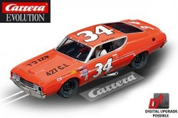 Carrera EVOLUTION Ford Torino Talladega Wendell Scott 1/32 Slot Car 20027521