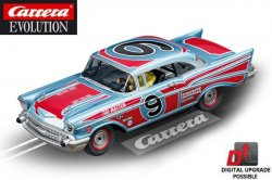 Carrera EVOLUTION Chevrolet Bel Air Oval Racer 1/32 Slot Car 20027526