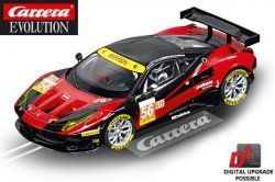 Carrera EVOLUTION Ferrari 458 Italia GT2 AT Racing 1/32 Slot Car 20027511