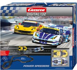 Carrera 30182 DIGITAL 132 Power Speeders 1/32 Race Set