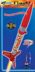 Estes Flash Model Rocket Launch Set 1478