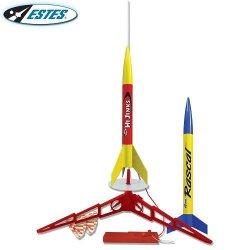 Estes Rascal & Hi Jinks Model Rocket Launch Set 1499