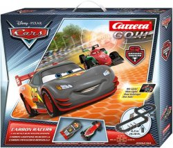 Carrera GO Cars Carbon Racers 1/43 Race Set 20062384