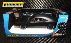 Pioneer 1969 Dodge Charger 426 HEMI STEALTH Stage 2 1/32 Slot Car P091