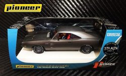 Pioneer 1969 Dodge Charger 426 HEMI STEALTH Stage 2 1/32 Slot Car P092