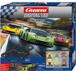 Carrera 20030191 DIGITAL 132 Pure Speed 1/32 Race Set