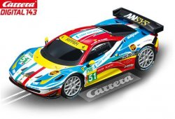 Carrera DIGITAL 143 Ferrari 458 Italia GT2 AF Corse 1/43 Slot Car 20041394