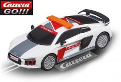Carrera GO Audi R8 V10 Plus Safety Car 1/43 Slot Car 20064063
