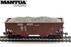 '.Mantua HO Hopper w/ Coal UP.'