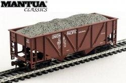 Mantua HO 36' Hopper w/ Gravel Union Pacific