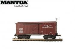 Mantua HO Wooden Vintage Freight Car 1860 Box Car Ma&Pa