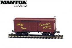 Mantua HO Wooden Vintage Freight Car 1860 White Pass