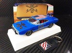 Pioneer 1969 Dodge Charger General Grant 1/32 Slot Car P094