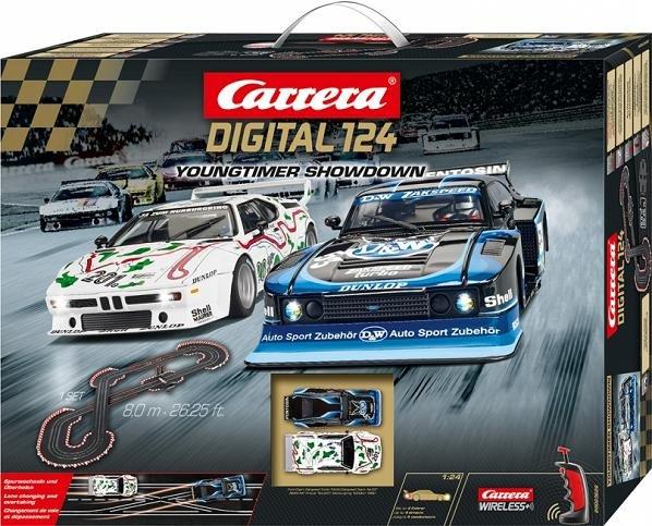 carrera digital 124 youngtimer showdown 1 24 race set 20023626. Black Bedroom Furniture Sets. Home Design Ideas