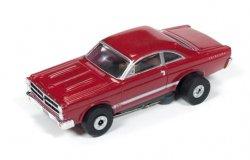 Auto World ThunderJet R18 1966 Ford Fairlane HO Slot Car - Red