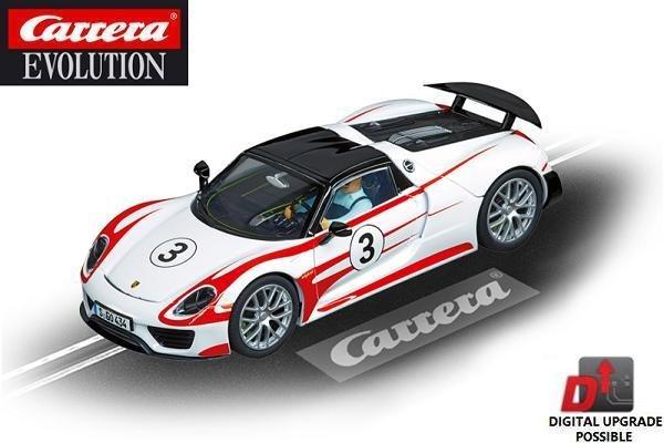carrera evolution porsche 918 spyder 1 32 slot car 20027477. Black Bedroom Furniture Sets. Home Design Ideas