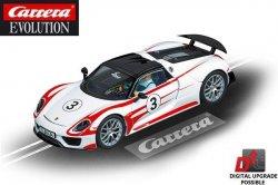 Carrera EVOLUTION Porsche 918 Spyder 1/32 Slot Car 20027477