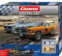 Carrera DIGITAL 132 Ford Fastbacks Race Set