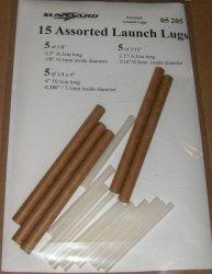 Sunward Assorted Launch Lugs (15)