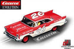 Carrera EVOLUTION Chevrolet Bel Air '57 Coupe 1/32 Slot Car 20027376