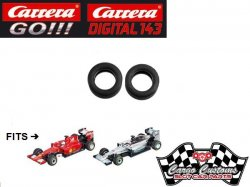 Cargo Customs Carrera GO 2016+ F1 High-Grip Tires CCHGT035