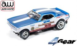 Auto World 4Gear Ultra-G 1970s Plymouth Cuda Funny Car Don Schumacher
