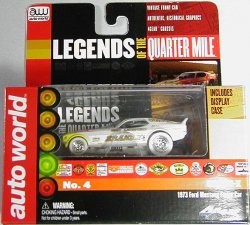 Auto World 4Gear Ultra-G 1973 Ford Mustang Funny Car Brand-X - iWheels version