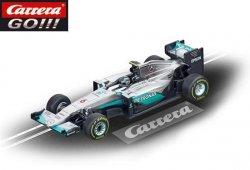 Carrera GO F1 Mercedes W07 Hybrid Rosberg 1/43 Slot Car 20064096
