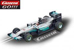 Carrera GO F1 Mercedes W07 Hybrid Hamilton 1/43 Slot Car 20064088