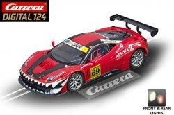 Carrera DIGITAL 124 Ferrari 458 Italia GT3 Kessel Racing 1/24 Slot Car 20023838