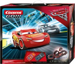 Carrera GO Cars 3 Finish First! 1/43 Race Set 20062418
