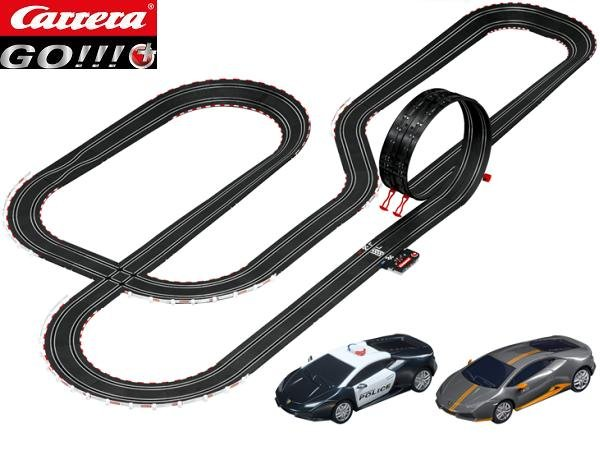 Image 1 of Carrera GO Plus Night Chase 1/43 Race Set 20066004