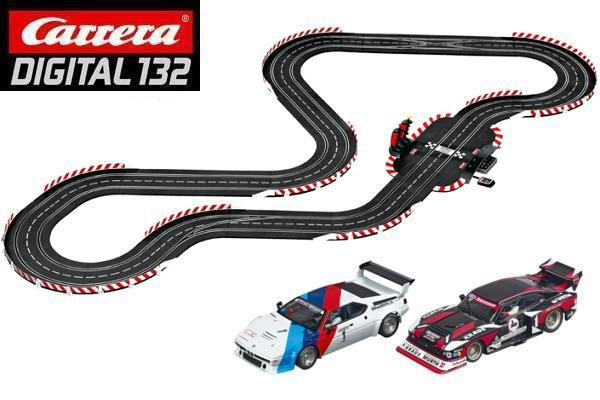 Image 1 of Carrera DIGITAL 132 80' Flashback 1:32 Race Set