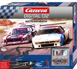 Carrera 20030197 DIGITAL 132 80' Flashback 1/32 Race Set