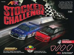 AFX Stocker Challenge Slot Car Set