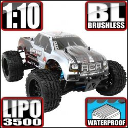 Redcat Volcano EPX PRO Brushless 4WD 1/10 RC Monster Truck RTR