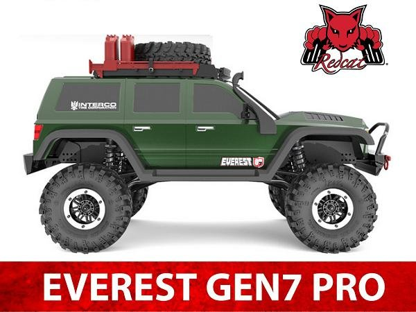 Image 2 of Redcat Everest Gen7 PRO Electric 1/10 RC Crawler RTR w/ FREE Scale Accessory Set