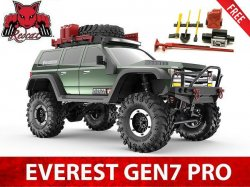 Redcat Everest Gen7 PRO Electric 1/10 RC Crawler RTR w/ FREE Scale Accessory Set