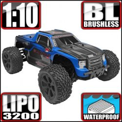 Redcat Blackout XTE PRO Brushless Electric 1/10 RC Monster Truck RTR