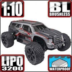 Redcat Blackout XTE PRO Brushless  4WD 1/10 RC Monster Truck SUV RTR