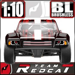 Team Redcat TR-SC10E Electric Brushless 1/10 RC Short Course Truck