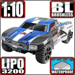 Redcat Blackout SC PRO Electric Brushless 1/10 RC Short Course Truck RTR Blue