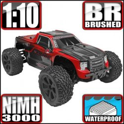 Redcat Blackout XTE Electric 4WD 1/10 RC Monster Truck RTR