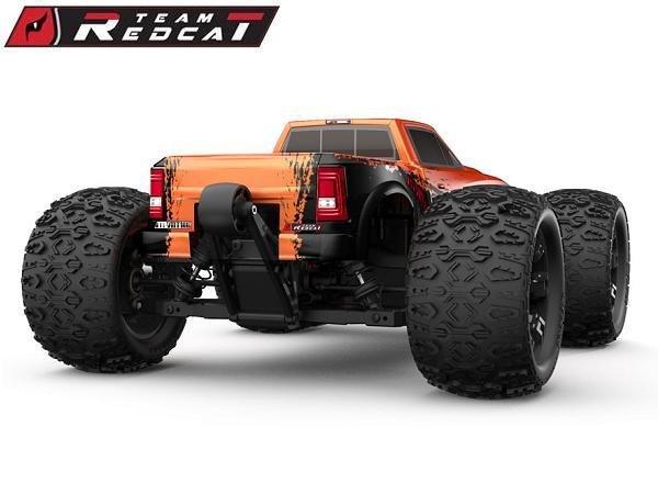 Image 5 of Team Redcat TR-MT10E 1/10 RC Monster Truck Pearl Orange