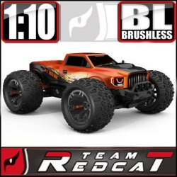 Team Redcat TR-MT10E 1/10 RC Monster Truck Pearl Orange
