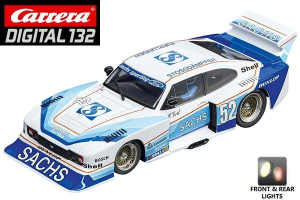 Carrera DIGITAL 132 Ford Capri Zakspeed Turbo Sachs 1/32 Slot Car 20030831