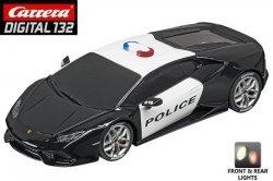 Carrera DIGITAL 132 Lamborghini Huracan LP 610-4 Police 1/32 Slot Car 20030854