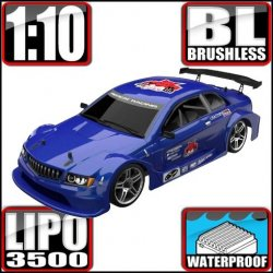 Redcat Lightning EPX PRO Brushless 1/10 RC On Road Car RTR Blue