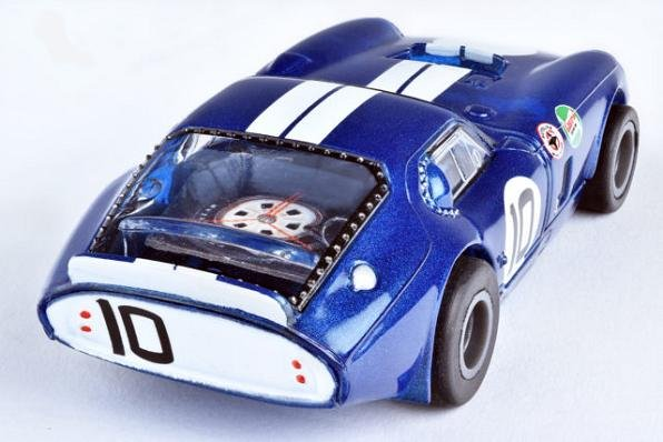 Image 1 of AFX Mega-G+ Shelby Cobra Daytona Coupe HO Slot Car 22001