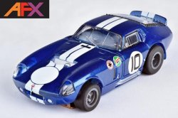 AFX Mega-G+ Shelby Cobra Daytona Coupe HO Slot Car 22001